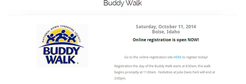 2014 Buddy Walk